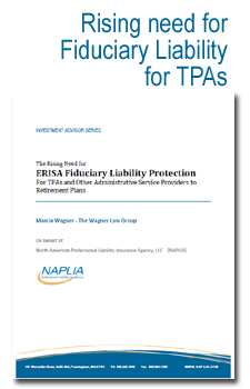 Fiduciary Liability for TPAs